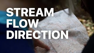 Determining Stream Flow Direction from a Topographic Map