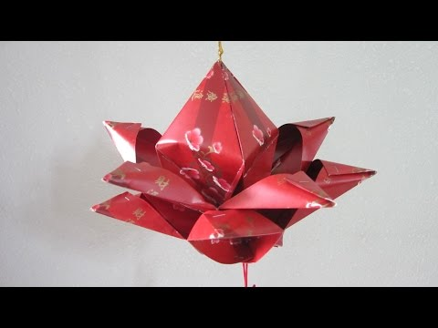 CNY TUTORIAL NO. 44 - Hongbao Lotus Flower