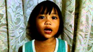 Aeky singing Wonder Pets theme song tagalog version