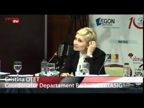 Cristina OTET Coordonator Departament Brokeri, CERTASIG  BROKERS'         Conference - Presentation