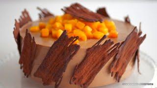 Торт Манго и Шоколад