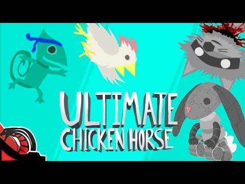 EL EQUIPO AKBAR   Ultimate Chicken Horse #Rageduels Vs None, Zellen y Eruby