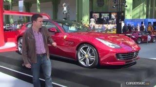 Présentation - Bienvenue à bord de la Ferrari GTC4 Lusso 2016