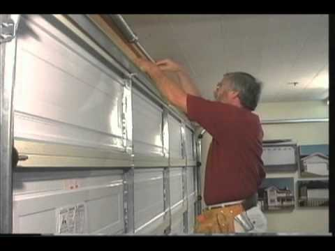 Garage Door Brace martin garage door adjustable strut - youtube