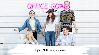 Bright and Blingy Boffice Design Reveal | Office Goals | Mr Kate | Episode 10