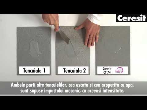 Tencuiala Decorativa Ceresit Pret.Studiu De Caz Avantajele Tencuielii Siliconice Ceresit Ct 74 Fata