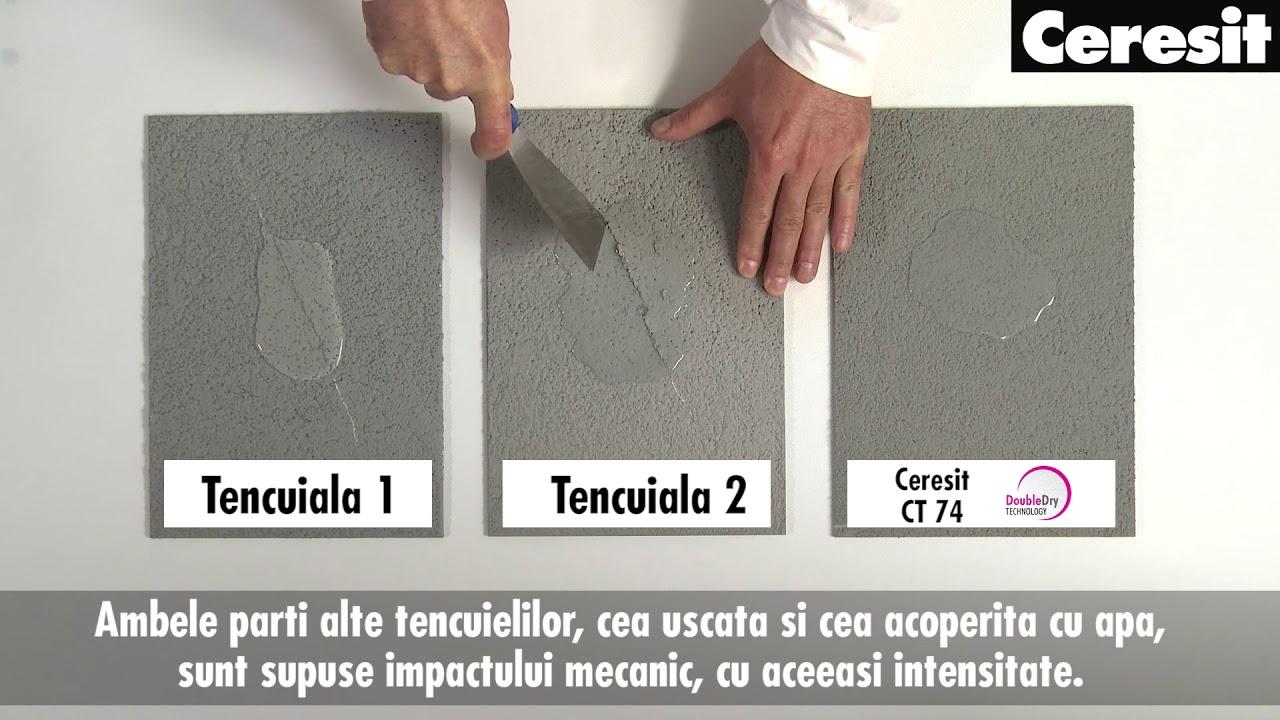 Culori Tencuiala Decorativa Ceresit.Studiu De Caz Avantajele Tencuielii Siliconice Ceresit Ct 74 Fata