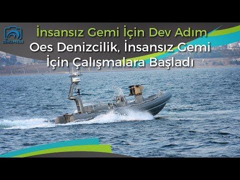OES Denizcilik insansız deniz aracı üretmek için çalışmalara başladı