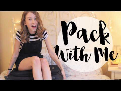 PACK WITH ME FOR SPAIN! | Rhiannon Ashlee