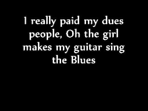 My guitar sings the blues (lyrics) - BB King