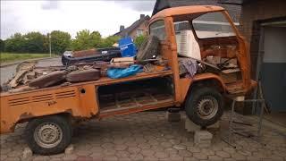 Restauration VW Bulli T2 Teil 1   Bulli Garage Vlotho