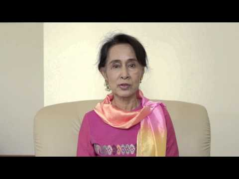 Aung San Suu Kyi's message on World Day Against Child Labour 2014