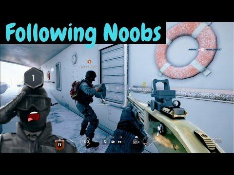 Noob Hunting #2 - Rainbow Six Siege