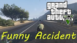 Crazy Motorcycle Driving and Funny Accident in GTA V