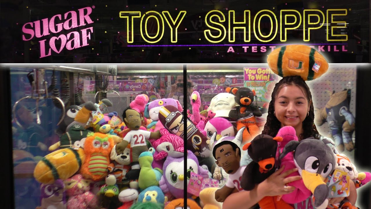 Crystal WRECKING the claw machine  Claw Machine Wins  YouTube