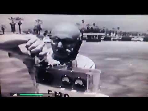 Electromagnetic propulsion. Submarine 1966.