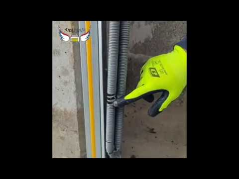 Remplacement Ressort Hs Sur Porte De Garage Youtube
