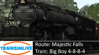 Train Simulator 2015 - Majestic Falls, UP BigBoy 4-8-8-4