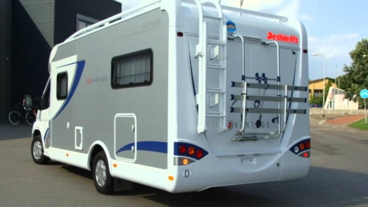 Kampeerauto te koop: dethleffs advantage t 6611 enkele bedden youtube