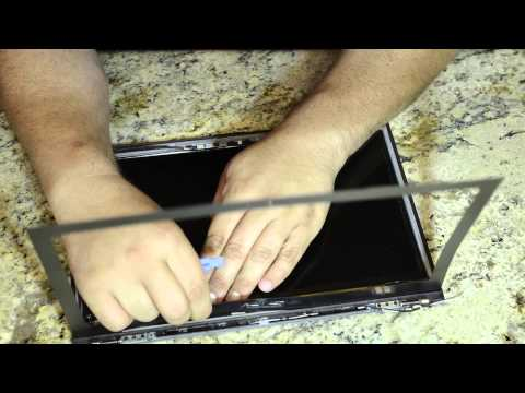 Laptop screen replacement / How to replace laptop screen [Asus Zenbook Prime UX32VD-DB71]