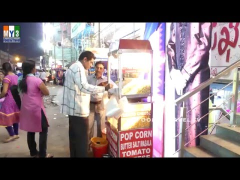 POPPINGCORN | POPCORN | 4K VIDEO | INDIAN STREET FOOD
