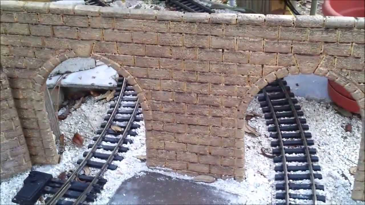 How To Make G Scale Stone Block Tunnel Portals And Walls