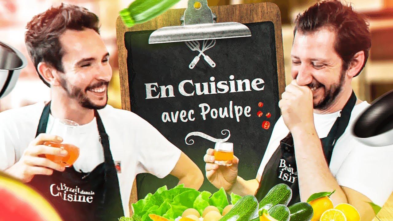 Une recette pompette avec Monsieur Poulpe !