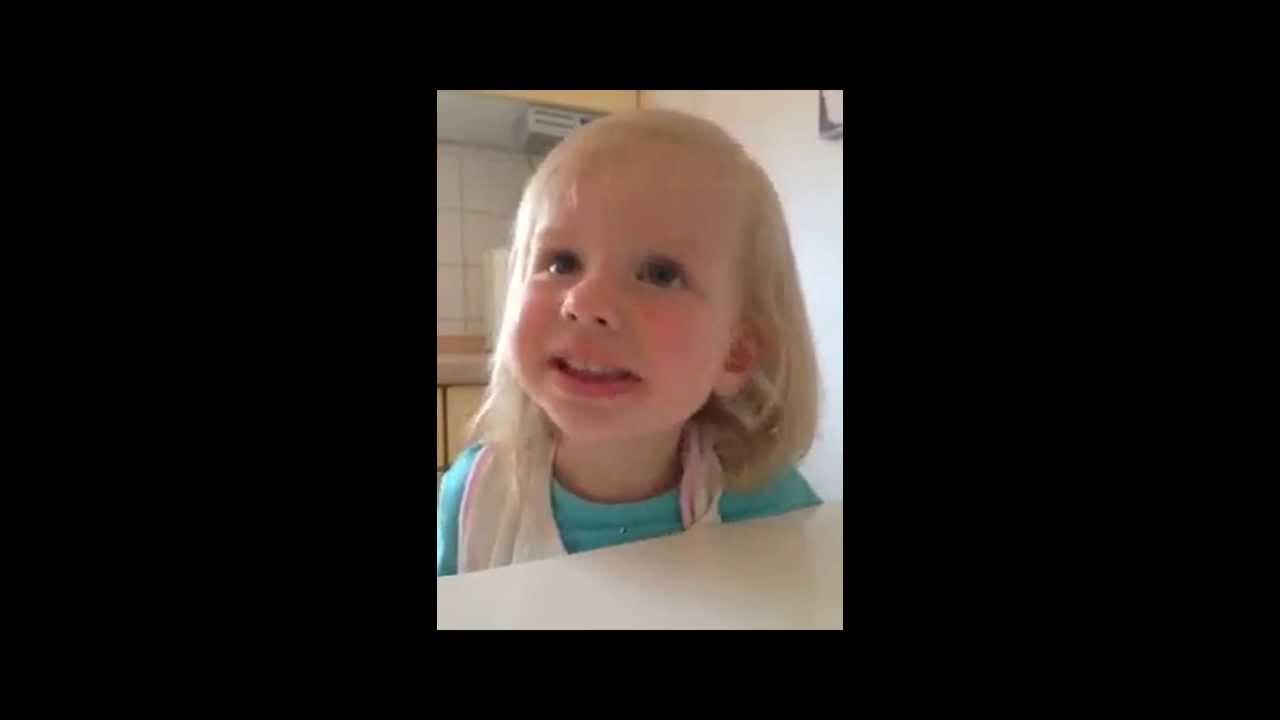 Kind sagt pfotze - YouTube