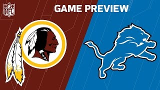 Redskins vs. Lions (Week 7 Preview) | Around the NFL Podcast | NFL