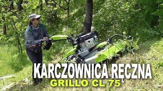 Karczownica ręczna GRILLO CL 75