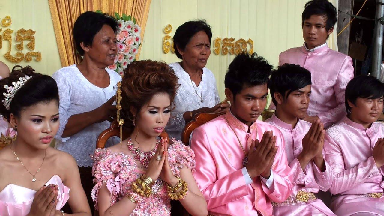 Cambodian  wedding kampong cham province ondout village 38)
