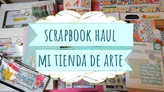 Compras Scrapbook Haul en Mi Tienda de Arte | Rebajas 40% descuento