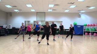 Dance Fitness- Party People by Nelly featuring Fergie