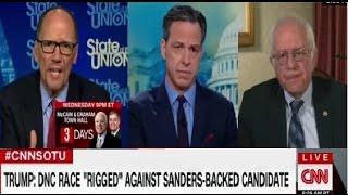 SOTU ,Tom Perez New Democratic National chairman and Bernie Sanders on Keith Ellison Deputy DNC