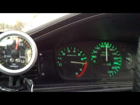 Honda civic d16 vtec turbo boost 0.35 bar 0-140