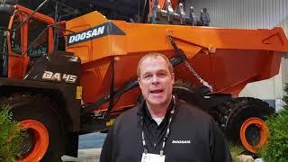 Video still for Doosan DA45-5 Articulated Dump Truck (ADTs)