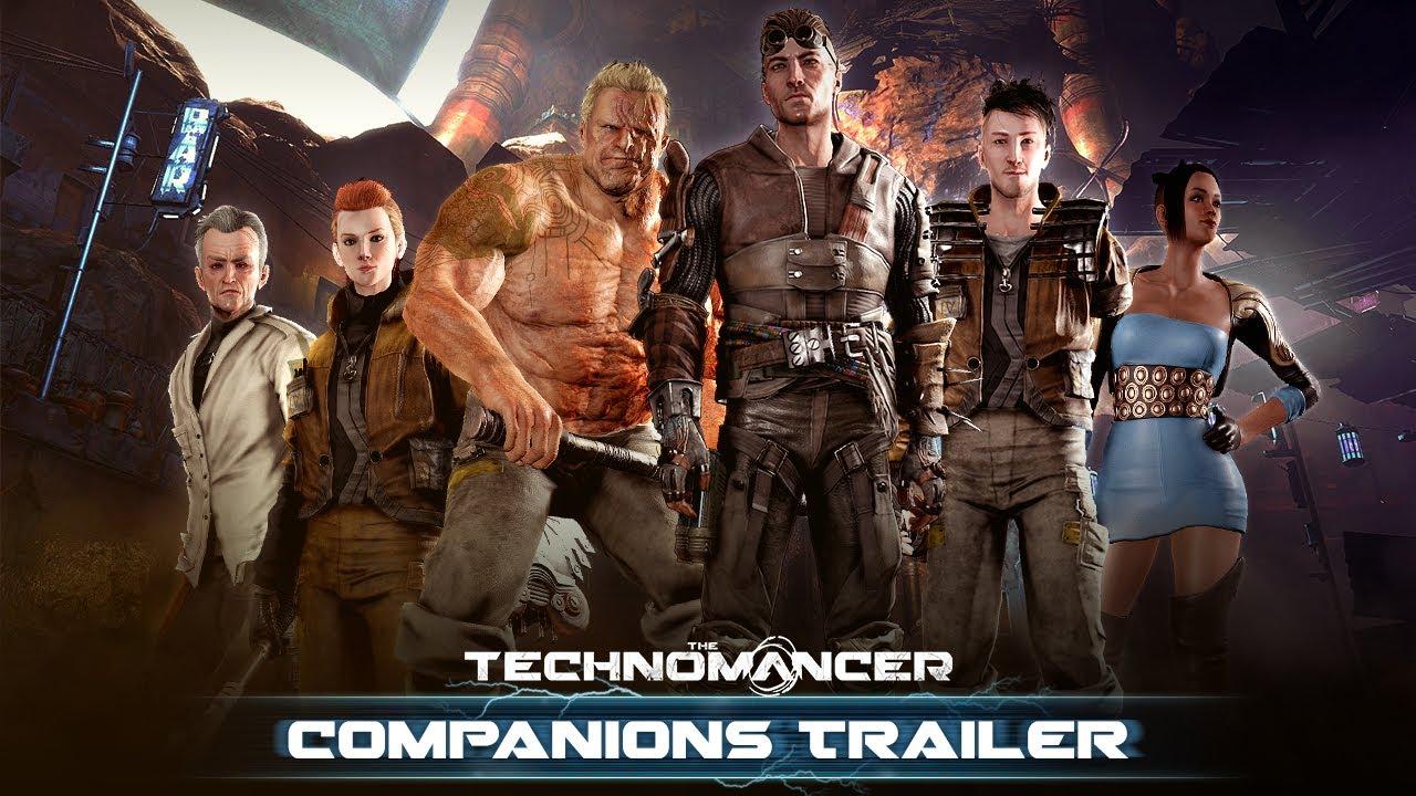 The Technomancer Companions Trailer New Gameplay Youtube