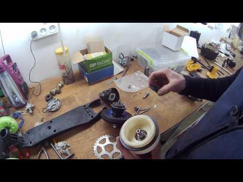 Как сделать электропривод для самоката из шуруповерта (подетальный обзор)