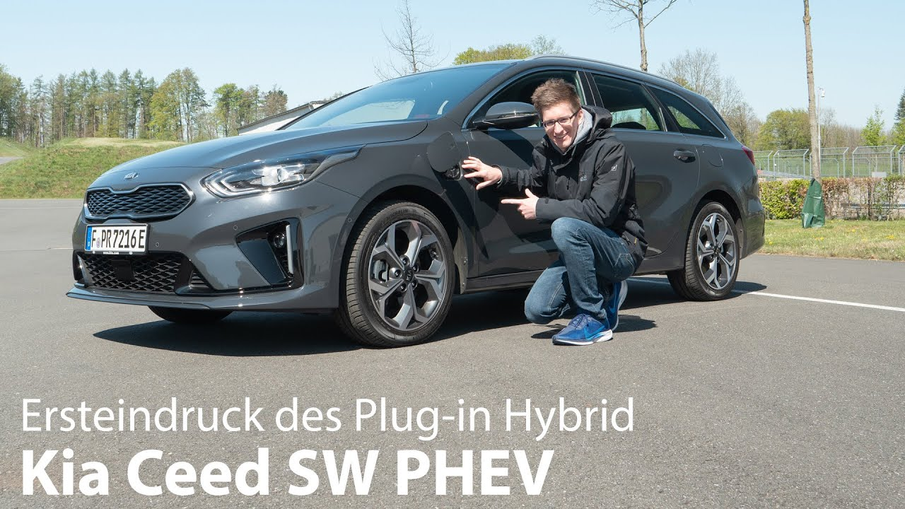 2020 Kia Ceed Sw Eco Plug In Test Plug In Hybrid Ohne Einbussen Autophorie Youtube