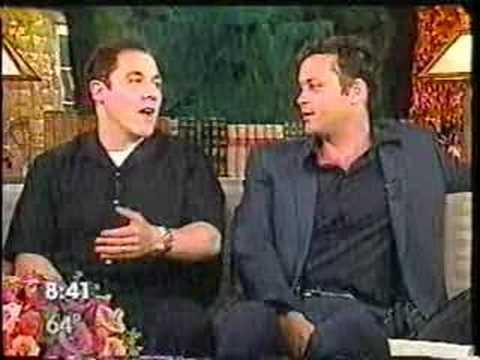 Jon Favreau & Vince Vaughn 2001