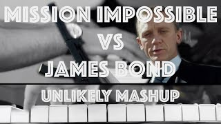Mission Impossible VS James Bond - Theme Mashup (Jazz Piano Cover)