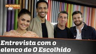 """Entrevista com o elenco de """"O Escolhido"""", série brasileira de suspense na Netflix"""