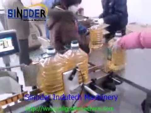 Vegetable soy bean Oil  Making Machine and Cooking oil Filling Machine and Packaging LIne  Machine