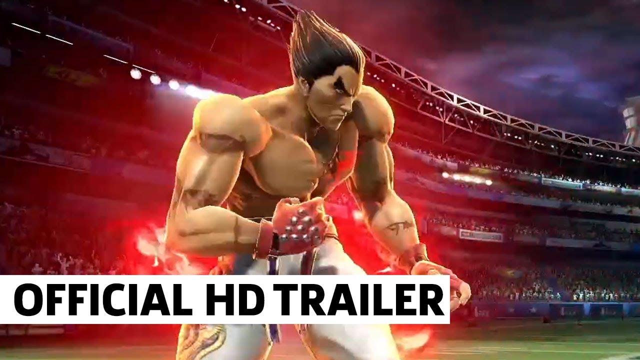 Tekken's Kazuya Mishima is coming to Smash Bros. Ultimate