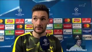 Hugo Lloris Post Match Interview Tottenham 1-2 Juventus