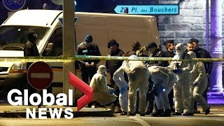 LIVE: Strasbourg police shootout leaves 1 dead