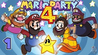 Mario Party 4 | Let's Play Ep. 1 | Super Beard Bros.