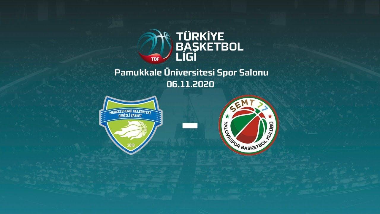 Merkezefendi Belediyesi Denizli Basket – Semt77 Yalovaspor TBL 4.Hafta