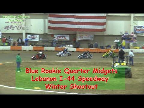 Blue Rookie Quarter Midget - I-44 Speedway Winter Shootout 1-19-2018