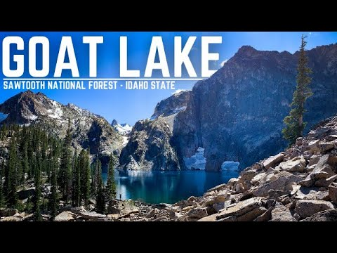 HIKING GOAT LAKE | Sawtooth National Forest | Southern Idaho